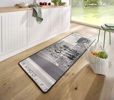 Hanse Home Teppichläufer Polyamid grau weiß
