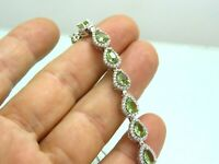 Turkish Handmade Jewelry 925 Sterling Silver Alexandrite Stone Women Bracelet