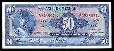 El Banco de Mexico 50 Pesos 27.DIC.1950 Serie CV, P-49d. UNC