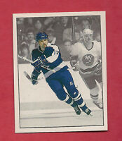 RARE 1987 PANINI # 320 LEAFS WENDEL CLARK ACTION  STICKER   CARD