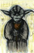 "Yoda Star Wars ""Yoda: A Jedi Master"" 11 x 17 High Quality Poster"