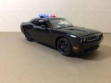 ACME 1:18  2010 Dodge Challenger SRT8 Blackout Texas Hwy Patrol Chase Car