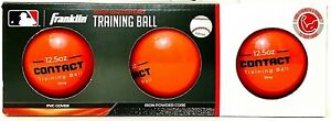 3 Pack Franklin Official MLB 12.5 Oz Contact Training Ball Add Strength & Power
