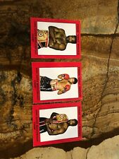 """Frank """"chili"""" Rhodes Usba Super Middleweight Champ Trading Cards Lot Of 3"""