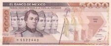 1987 Mexico 5,000 Pesos Note, Pick 88b
