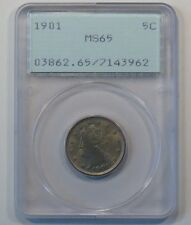 1901 Liberty V Nickel PCGS MS65 - Old Rattler Slab