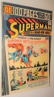 SUPERMAN #284 100 PAGE GIANT 8.5/9.0  1975 WHITE PAGES