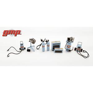 GMP 1:43 Gulf Tool Set  - Accessories for Garage Diorama