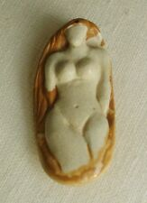Africa vintage pendant/amulet in African Queen Jasper 186ct - est. begin 20th C