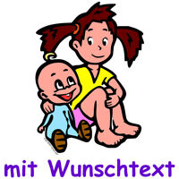 GESCHWISTERAUFKLEBER bunte Babyaufkleber Aufkleber Baby Autoaufkleber BG9-MDJH