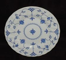 "One Myott Staffordshire 6-3/4"" Bread / Dessert Plate  Finlandia Blue and White"