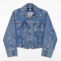Vintage BANANA REPUBLIC  Blue 90s Cotton Casual Denim Jacket Womens S