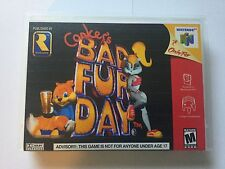 Universal N64 Replacement Case (NO GAME) Conker's Bad Fur Day - Nintendo 64