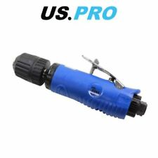 """US PRO 3/8"""" DR Non-Reversible Keyless Straight Air Drill 8215"""