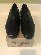 French Shriner Loafer vintage dress shoes Black Size 10A New