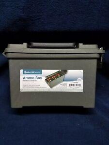 Ammo Box Heavy Gauge Polypropylene w/ Reinforced Lid  Bunker Hill Security