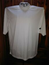Russell Athletic Dri Power Men's L, S/S Pullover Shirt, White