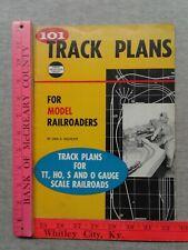 101 TRACK PLANS FOR MODEL RAILROADS LINN H. WESTCOTT