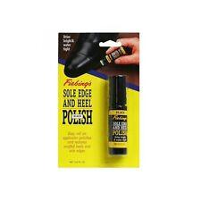Fiebings Shoe Sole Edge & Heel Polish Dressing  BLACK  0.6 oz Roll on applicator