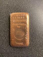More details for copper bullion bar 1 kg geiger
