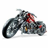 378Pcs Motorcycle Building Blocks Exploiture Model Harley Vehicle Bricks DIY Toy