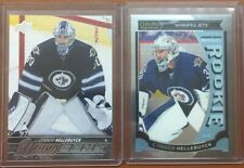 2015 Upper Deck Young Guns Connor Hellebuyck Rookie RC + OPC Marquee Card Lot TW