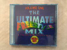 """THE ULTIMATE FREESTYLE MIX - VOLUME 1 CD! MIXED BY DJ JAVIER """"HAVE"""" SANCHEZ! EX+"""