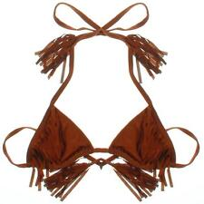 New Faith Love Hope Fringe Bikini Top - Size Small