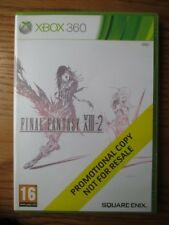 Final Fantasy XIII - 2 promo-Xbox 360 (promotional copy) Full Game ~ Square Enix