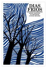 Spanish decor Graphic Design movie Poster for Hungary film.Dias Frios.COLD days.