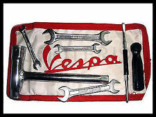 Vespa Tool Kit Red White Pouch Vbb Vba Super Sprint 150 125 VM VN VL GS GL SS