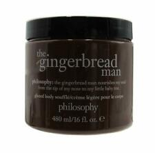 New Philosophy Gingerbread Man Body Souffle Cream Giant 16 oz - 2 available