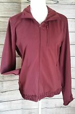 Prana Athletic Jacket New XL $160 Maroon burgundy Nichele High Performance