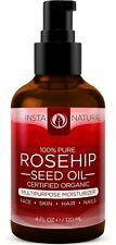 Organic Rosehip Seed Oil - 100% Pure, Unrefined Virgin Oil - Natural Moisturizer