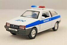 LADA 2108 USSR POLICE  RUSSIAN MILITCIYA RARE Collection Model Car 1/34scale