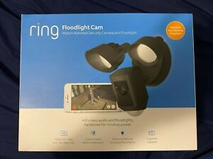 Ring Floodlight Camera Motion-Activated HD Security Cam Two-Way Talk BRAND NEW