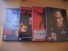 Steven Seagal DVD pack: 4 movies - good condition