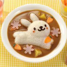 4 pcs/set Cute Rabbit Dolphin Sushi Maker Rice Onigiri Mould Punch DIY Bento