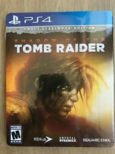 Shadow of The Tomb Raider Croft Steelbook Edition Ps4 Brand New Sealed Fast Ship