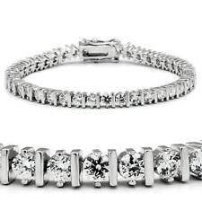 47206 7'' BAR AAA GRADE SIMULATED DIAMOND TENNIS BRACELET CLASSIC  9CTS WOMENS