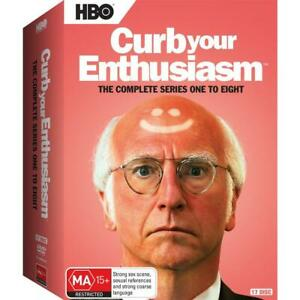 CURB YOUR ENTHUSIASM Series : Season 1-8 : NEW DVD
