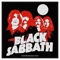 Parche Paño Coser Banda Black Sabbath    (ro)
