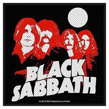 Black Sabbath Band Heads sew-on cloth patch  (ro)