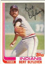 1982 Topps Bert Blyleven Cleveland Indians #685 Baseball Card