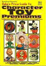 HAKE'S PRICE GUIDE TO CHARACTER TOY PREMIUMS #1, Ted Hake - 1ST PRINTING 1996