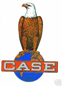 "CASE EAGLE TRACTOR VINYL STICKER  6"""