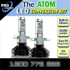 H11 LED Conversion Kit - Up to 10,000 Lumen - Philips Luxeon ZE S LED's