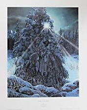Julie Kramer-Cole Hand Signed Numbered Limited Edition Brother To The Moon 1994