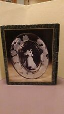 Oval Wedding Photo 5X7 Picture Frame Clear Glass by Crystal Clear Signatures