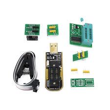CH341A 24 Serie Eeprom SOP8 DIP8 Destello Bios USB Programador SOIC8 Clip